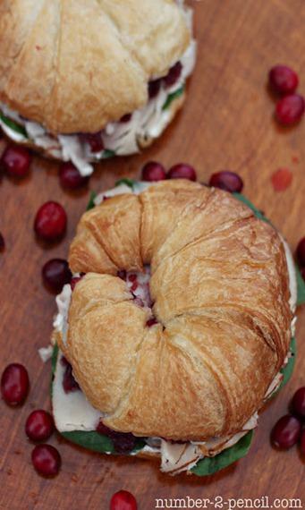 lunch turkey cranberry