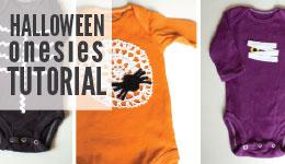 halloween onesies tutorial