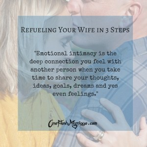 Refueling Your Wife in 3 Steps