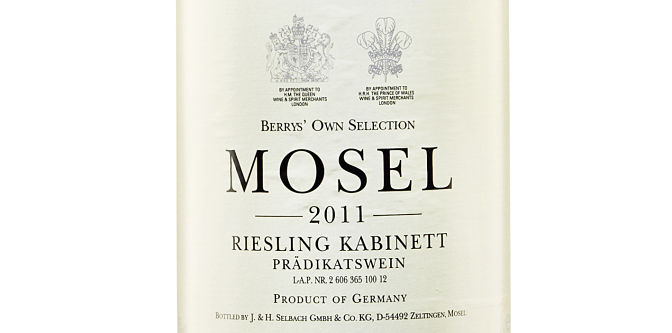 Berry's Own Selection riesling wine review