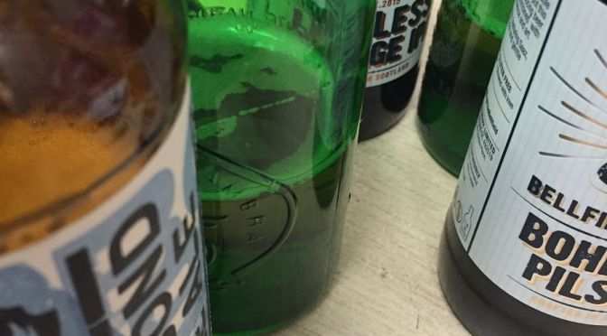 Gluten free beer: I track some down for our unscientific taste test