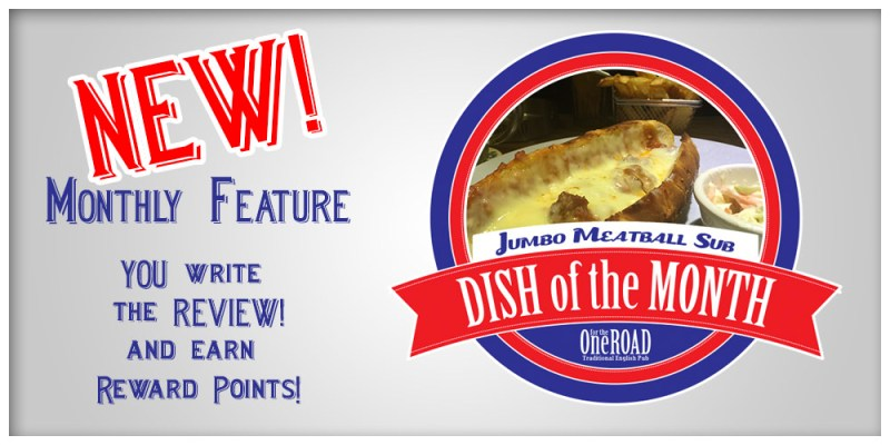 New Featured Article – WIN REWARDS POINTS with the DISH of the MONTH