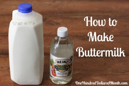 how to make buttermilk recipe