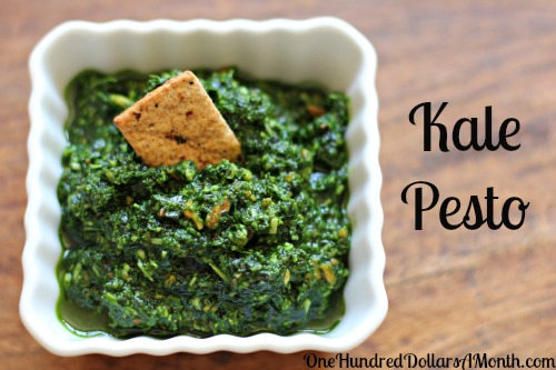 kale pesto recipe