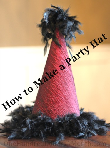 how to make a party hat