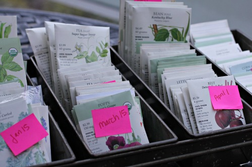 botanical interests seed packets