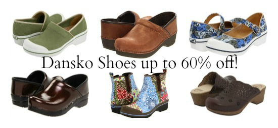 dansko shoe deals discount