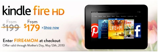kindle fire coupon
