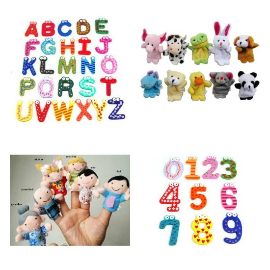 finger puppets fridge magnets