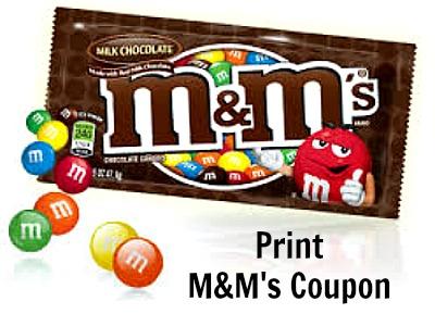 m&m coupons