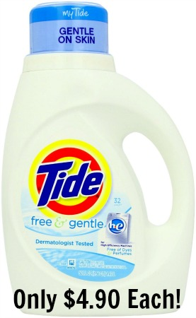 tide free and clear coupon