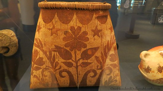 National Museum of the American Indian basket