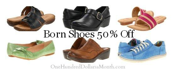 born shoe sale coupons