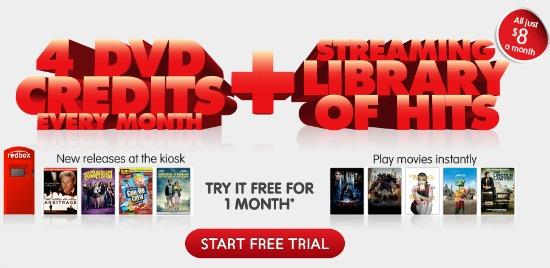 free redbox free trial