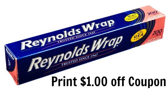 reynolds wrap  foil coupon