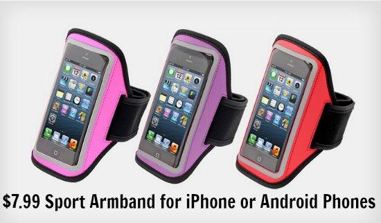 smartphone arm band