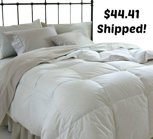 All Season Down Alternative Full Queen Comforter, White