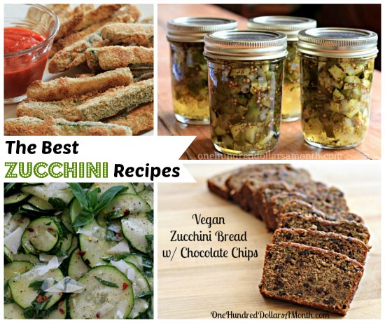 The Best Zucchini Recipes
