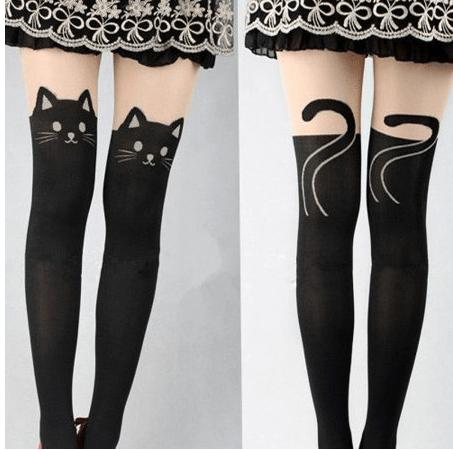Cat Kitty Tights