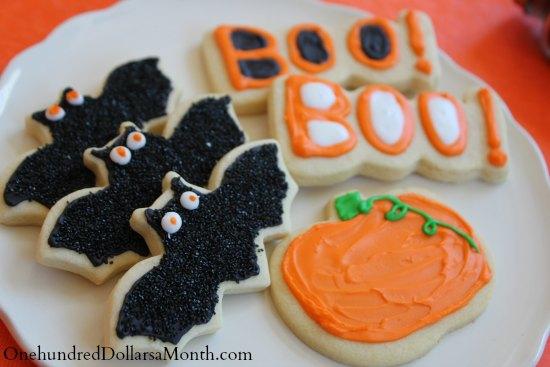 how to make bat cookies halloween