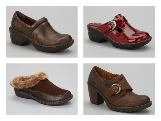 bocd by born clogs mules