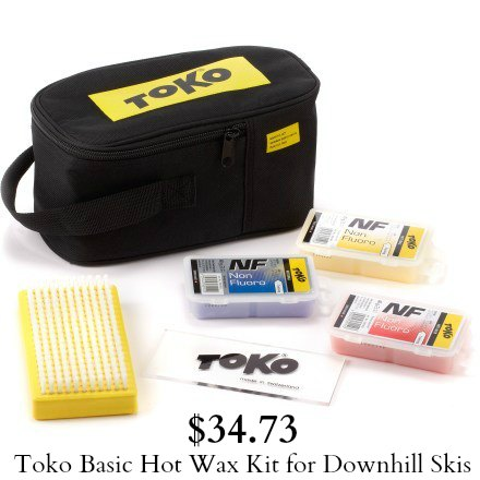 hot wax kit for skis