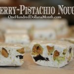 Homemade Cherry-Pistachio Nougat