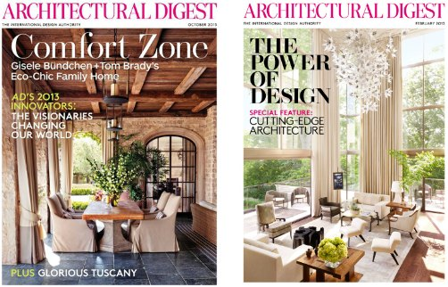 architectural; digest magazine