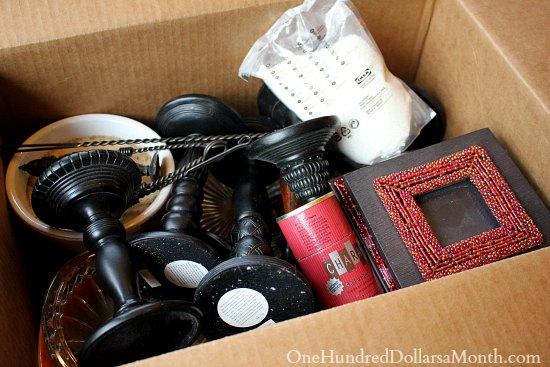 garage sale box