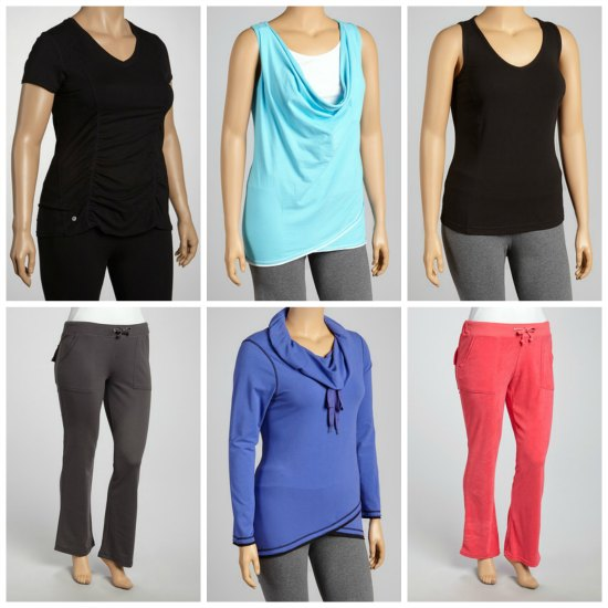 plus size workout apparel
