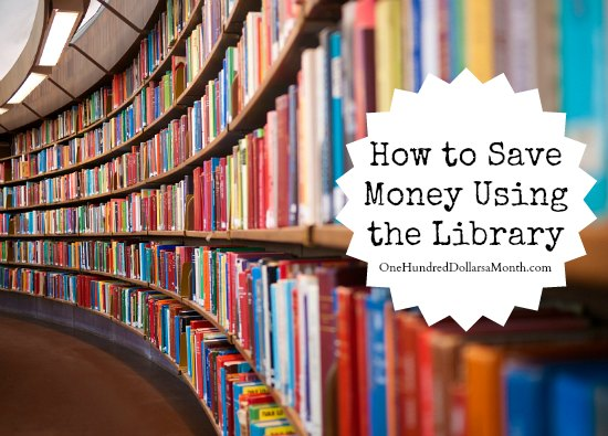 How to Save Money Using the Library