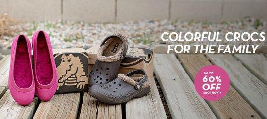 crocs discount