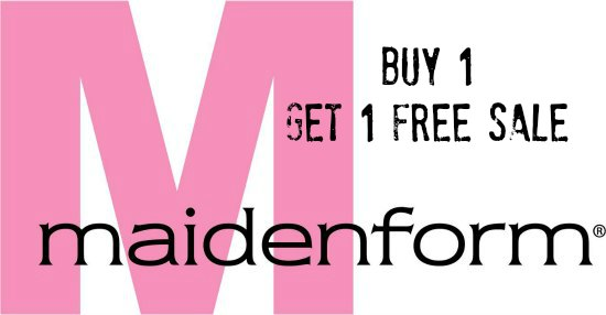 maidenform buy 1 get one free sale