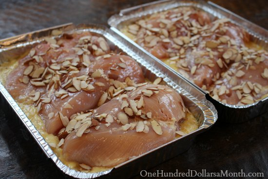 Easy Freezer Meals - Chicken with Rice Pilaf