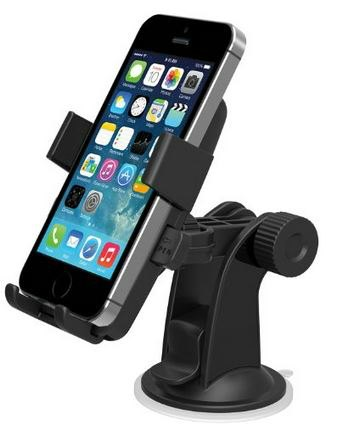 One Touch Windshield Dashboard Universal Car Mount Holder