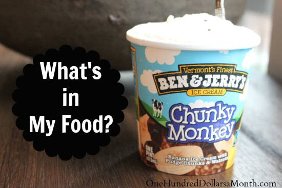what is in my food