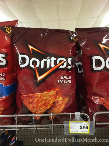 How Much Do Groceries Cost in Craig, Alaska doritos