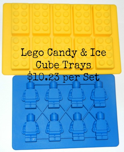 lego ice cube candy trays