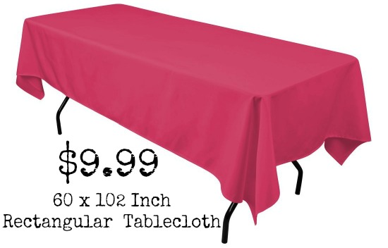 tablecloth for folding tables