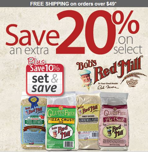 bobs red mill sale coupons
