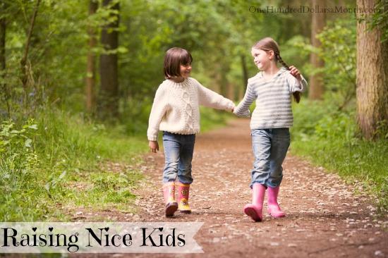 Tips for Raising Nice Kids