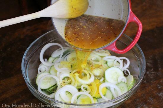 Easy Refrigerator Pickles recipe