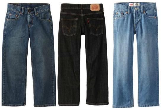 deals on boys levi jeans