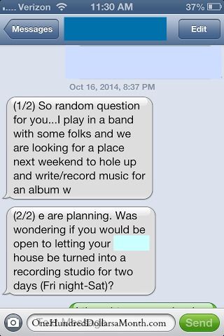 crazy iphone text messages