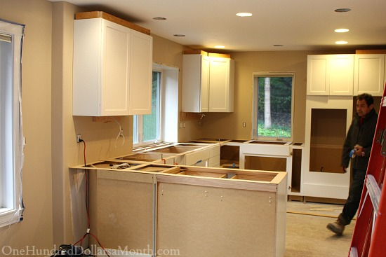 measuring kitchen counter tops