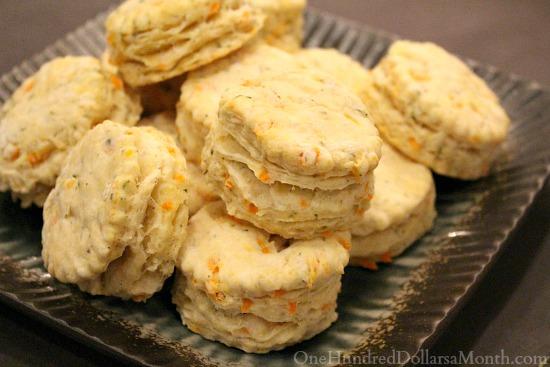Garden Fresh Dinner Biscuits