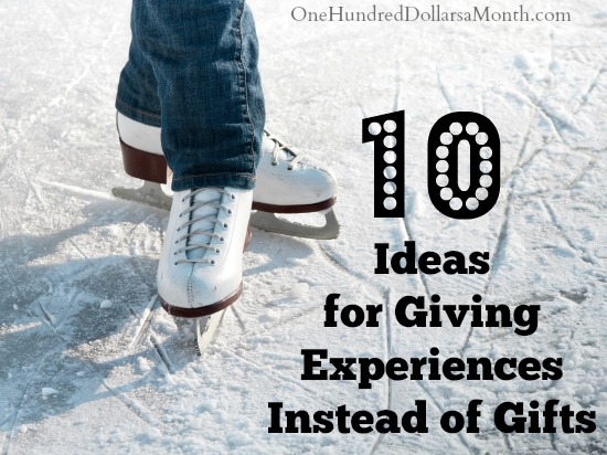 10 Ideas for Giving Experiences Instead of Gifts
