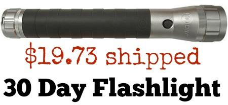 30 day flashlight