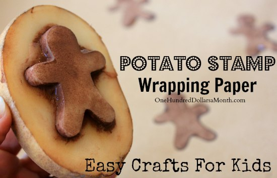 Easy-Crafts-For-Kids-Potato-Stamp-Wrapping-Paper1