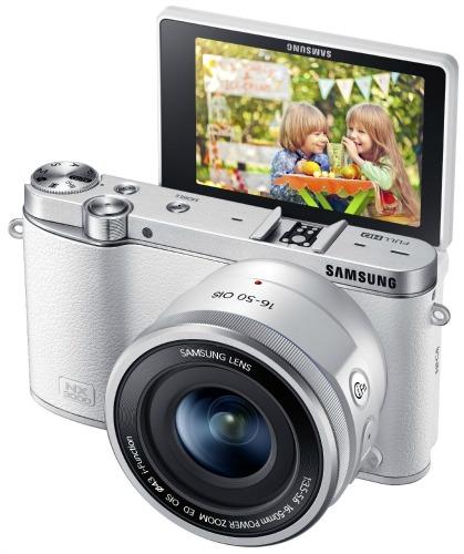 Samsung NX3000 Wireless Smart 20.3MP Compact System Camera